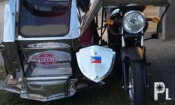Yamaha YTX 125 with Sidecar Good Condition. with shop