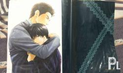 Selling a book cover featuring characters from Hidaka