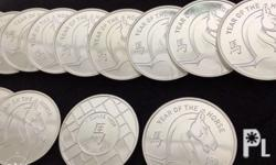 99.9 % Fine Silver All coins can be tested before