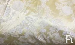 Yellow Linen Large size 20 ft long, silk, for linen and