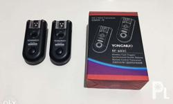 FOR SALE: (NO SWAP/TRADE) Yongnuo RF 603C for Canon