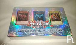 This is an original Yu-Gi-Oh TCG. Includes three god