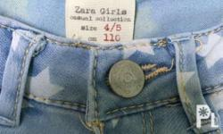Zara Jeans with Stars Age 4-5 | very good condition