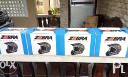 Bnew Zebra helmet motocross size large. Can be use DH