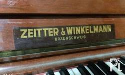 �Upright Piano �Half-step lower �NEGOTIABLE