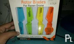 its has 2 sets for 8 blades all. one set is equievalent
