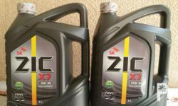 ZIC new and improved modern diesel engine oil Zic X7