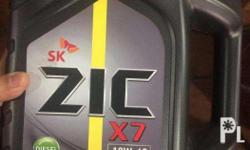 ZIC X7 Diesel is a 100% fully synthetic engine oil