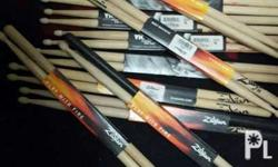 Zildjian 5a Vicfirth 7a 11pcs available.. Take them all