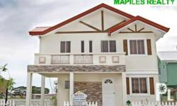 Zinnia Elegance House and Lot Marketed by: MAPILES