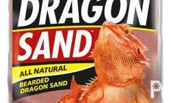 Zoo Med Substrate for Reptiles 1.1 Dragon Sand 20 lbs.