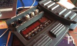 Gfx Zoom 707 guitar effects Ready to use Good