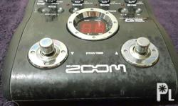 Multi Effects ZOOM G2 P3,000 Comes with 9V 1A PSU