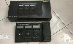 For Sale: Zoom G3Xn Guitar Multi-Effects Almost new, 3