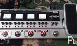Zoom G5 Multi fx unit..used mostly at home and in a