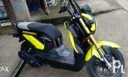 Zoomer-X Honda Re-price 60,000.00 First owner 4t plus
