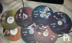 *free shipping nationwide* 17 dvds Zumba collection: